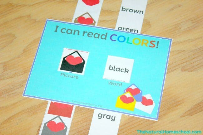 I am so excited to show you some Printable Heart Activities for Kids that has my 4-year old super excited! After I made these special Heart Activities for Kids to Match Colors {Printable}, she was itching for more. So I made her these and we're excited to share this free printable with you!