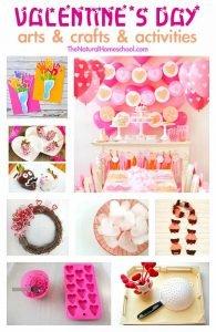 Valentine's Day Arts & Crafts & Activities