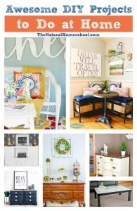 Awesome DIY Projects to Do at Home
