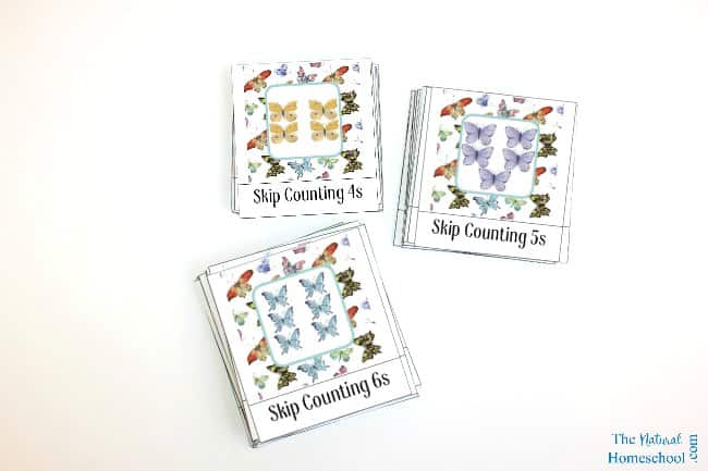 We love Math and we love the Montessori Method, so we blended the two and made some Montessori-Inspired Skip Counting for Kids that you and your family will enjoy using and learning from.