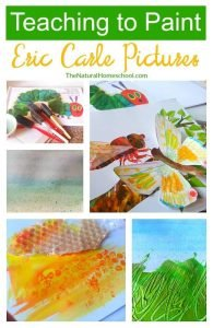 Teaching to Paint Eric Carle Pictures