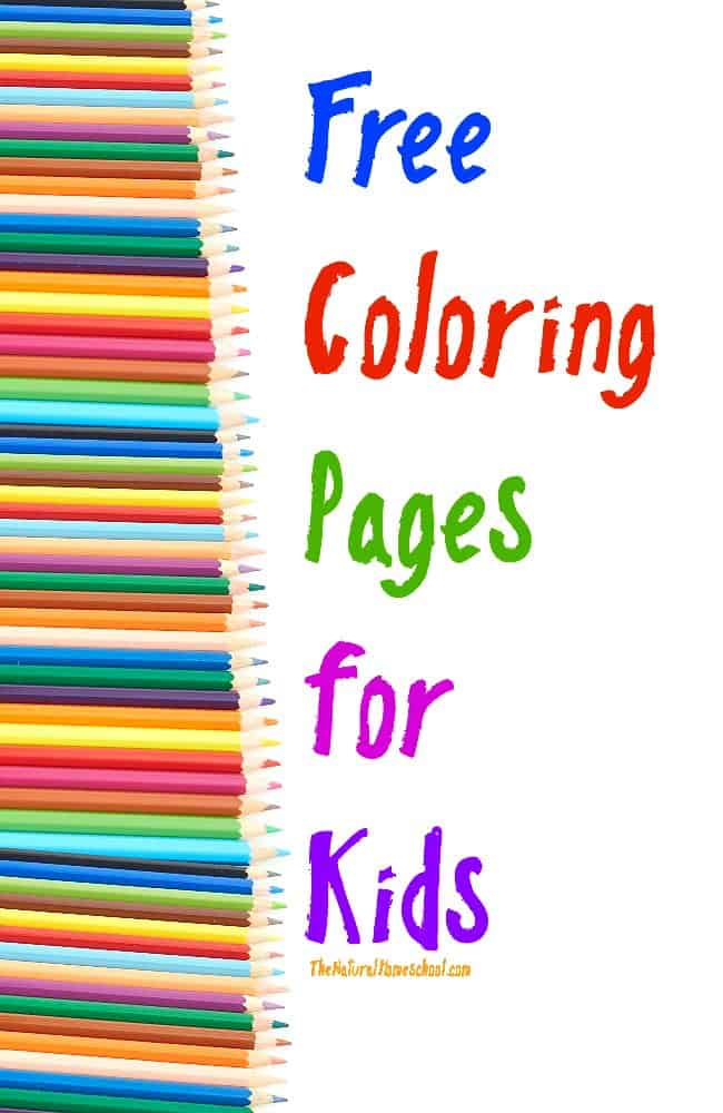 Awesome Printable Activity Coloring Pages for Kids - The Natural ...
