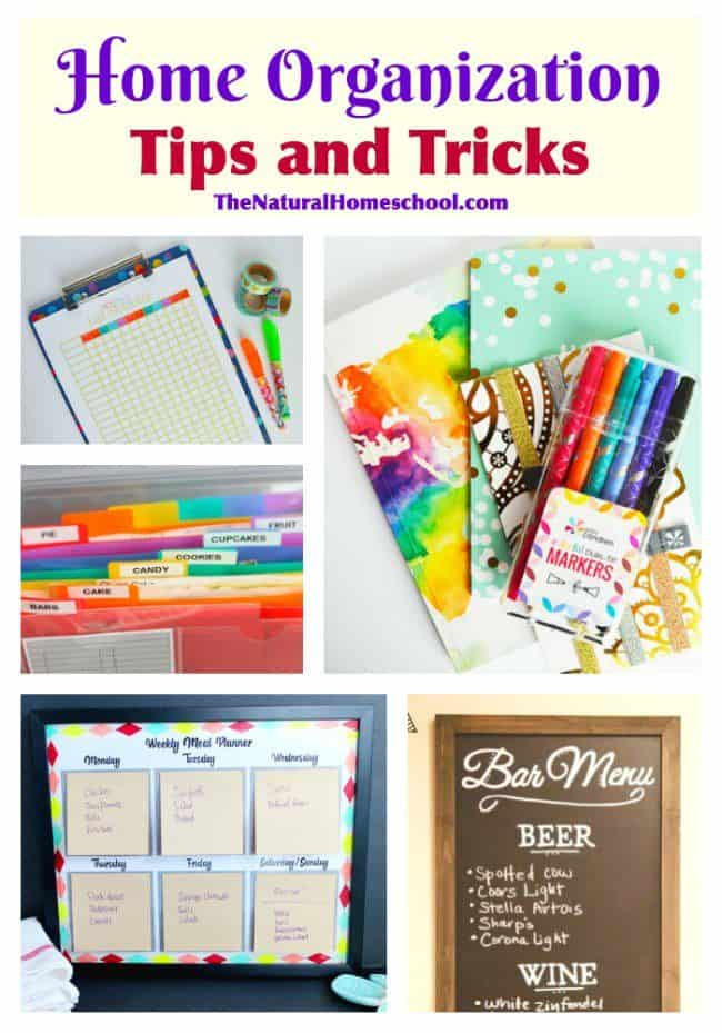 home organization tips and tricks the natural homeschool
