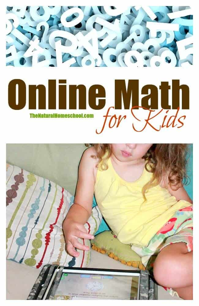 Online Math for Kids - The Natural Homeschool