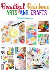 Beautiful Rainbow Arts and Crafts