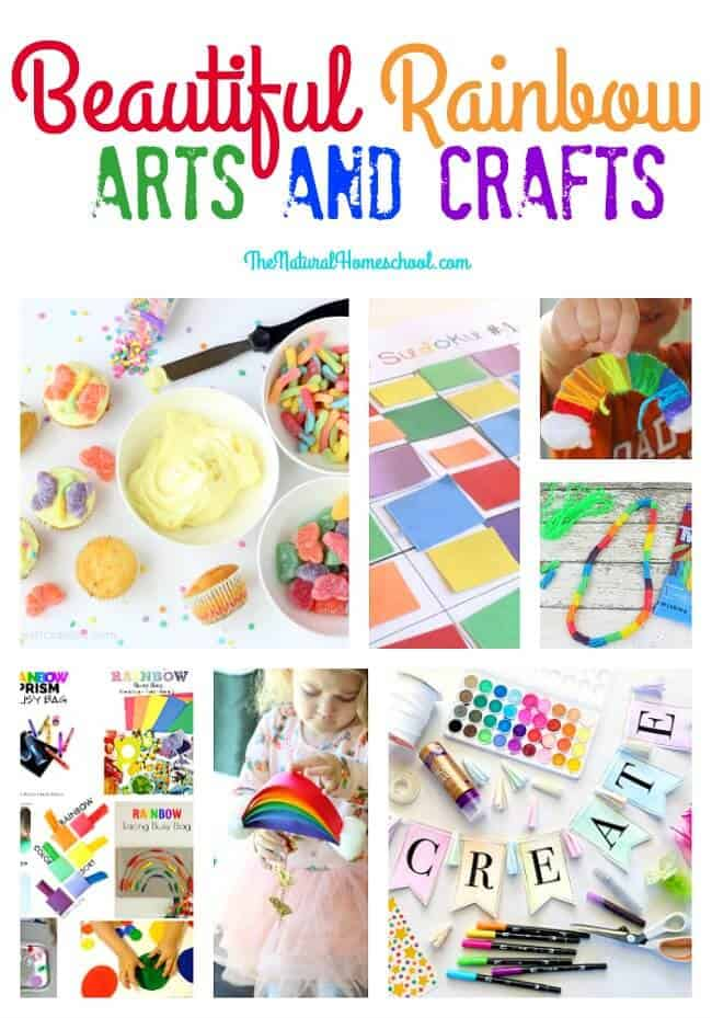 This is an great list of posts that bring you beautiful advice to make Beautiful Rainbow Arts and Crafts a wonderful experience. Include your children in the reading. What do they think?