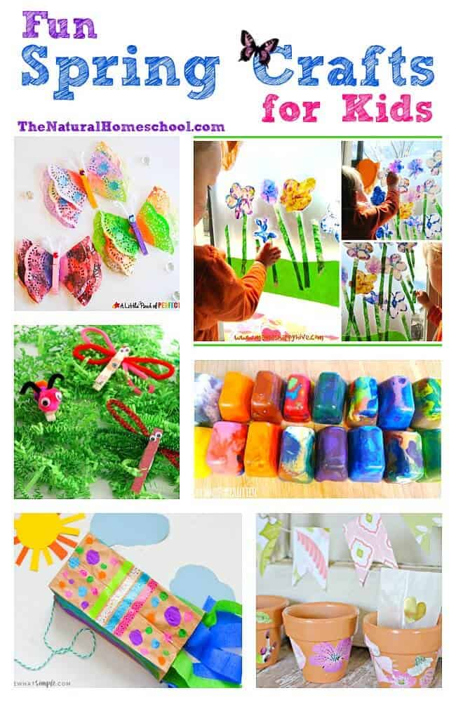 This is an great list of posts that bring you beautiful advice to make Fun Spring Crafts for Kids a wonderful experience. Include your children in the reading. What do they think?