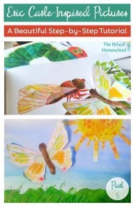 Inspired by Eric Carle Picture Books: Step-by-Step Tutorial {Part 5}