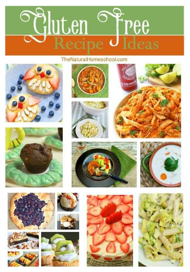 Have you decided to go gluten free? Have you been gluten free for a while? Regardless, I am so excited to share with you a wonderful list of gluten free recipe ideas that you and your family will love!