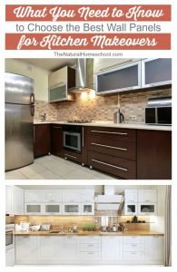 What You Need to Know to Choose the Best Wall Panels for Kitchen Makeovers