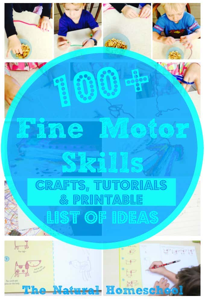 fine motor skills activities  practice  crafts and