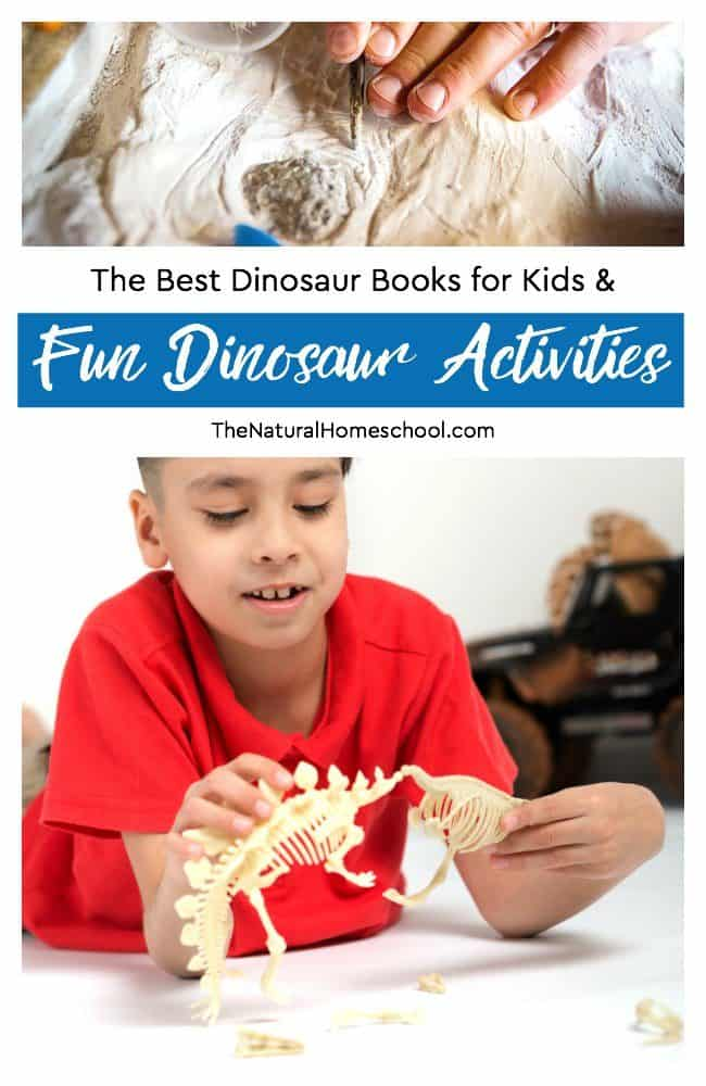 In this post, we will share with you some of the best dinosaur books for kids. We also have an awesome list of many fun dinosaur printables, activities, arts and crafts and more!