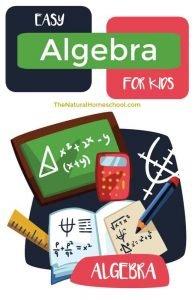 Easy Algebra for Kids