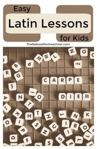 Easy Latin Lessons for Kids