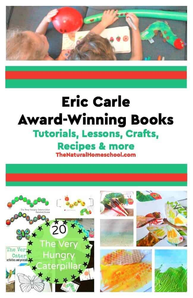 Here are some of the most amazing Eric Carle Award-Winning Books where you will find tutorials, lessons, crafts, recipes and so much more!