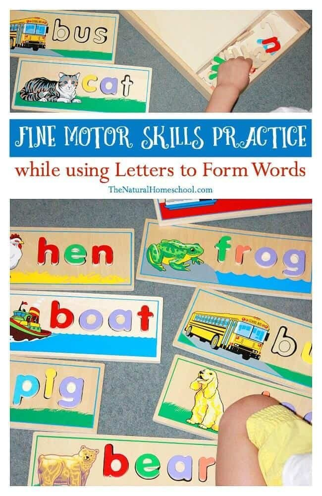 we love finding different ways for fine motor skills practice especially for preschoolers because they