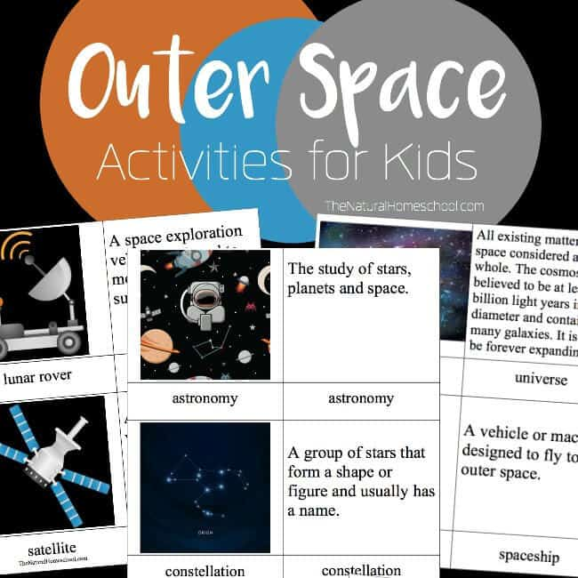 In this Outer Space Activities for Kids post, we will show you how much one can learn about space with one of the most fun books out there!