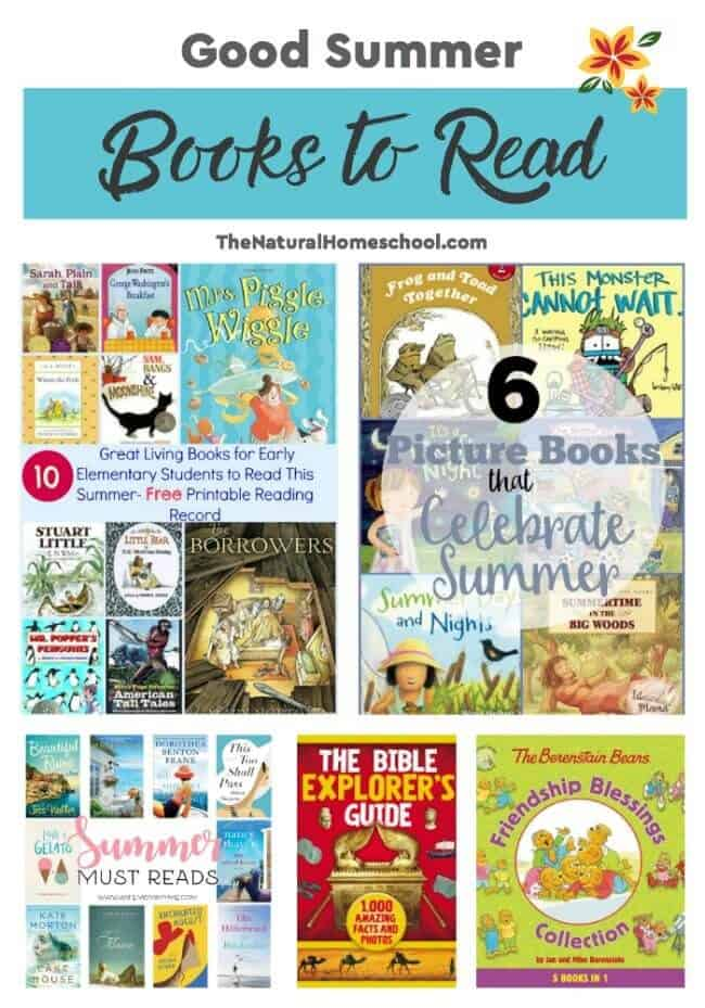 This is a great list of posts that bring you beautiful advice to make Good Summer Books to Read a wonderful experience. Include your children in the reading. What do they think?