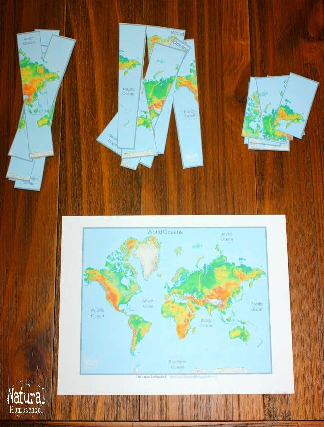It is fun to learn all about the Oceans on a World map! After all, there are five world oceans and they cover a big part of the planet. In this post, we show you three ways we learned them in a way that kids enjoy it and the information actually sticks.
