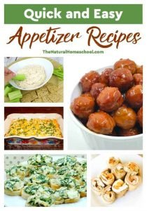 5 Quick and Easy Appetizer Recipes