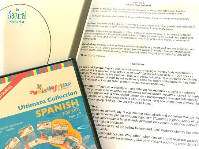 Come and take a closer look at this immersion curriculum to see if these basic Spanish lessons for kids are right for you family!