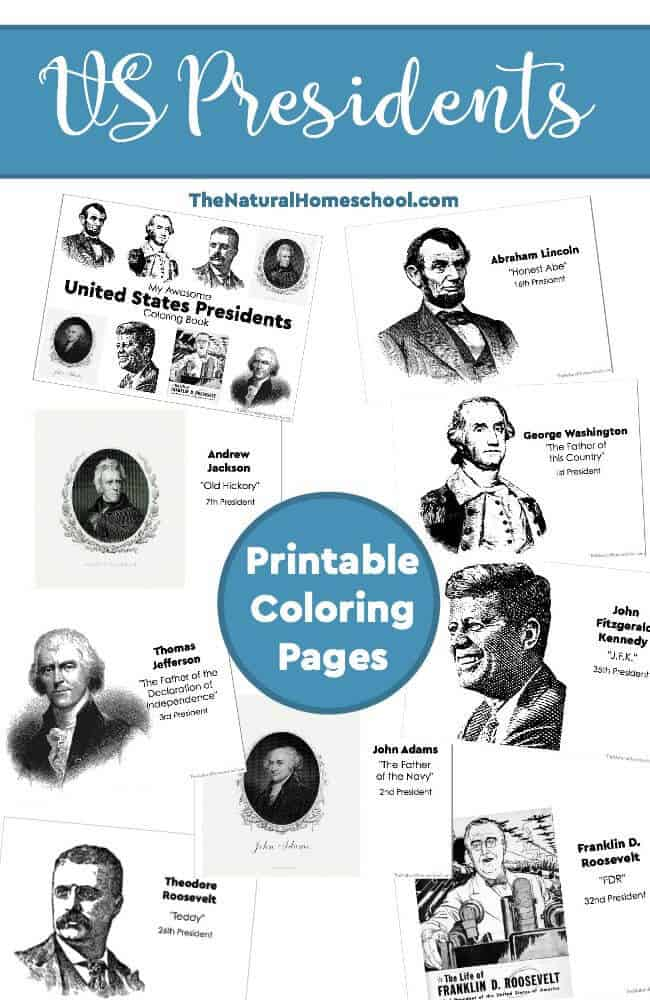 In this post, we share with you some awesome printable US Presidents Coloring Pages for Kids. They can be used in a few different ways.