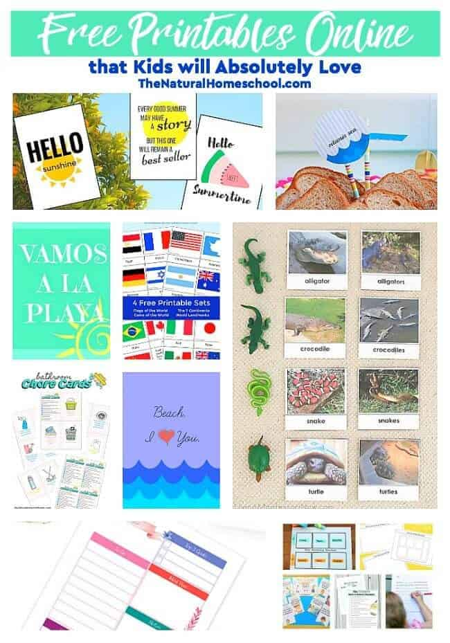 This is a great list of posts that bring you beautiful advice to make Free Printables Online that Kids will Absolutely Love a wonderful experience. Include your children in the reading. What do they think?