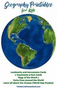 Geography Printables for Kids {Bundle}