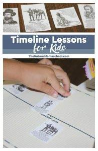 Timeline Lessons for Kids