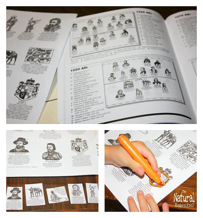 It is full of important information to offer endless Timeline Lessons for kids! It has been so much fun using this as it goes PERFECTLY with our History studies.
