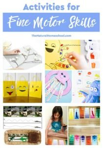 Helpful Activities for Fine Motor Skills