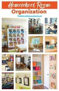 Fantastic Homeschool Room Organization Ideas