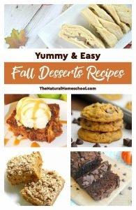 Yummy & Easy Fall Desserts Recipes