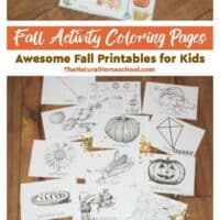 Fall Activity Coloring Pages - Awesome Fall Printables for Kids