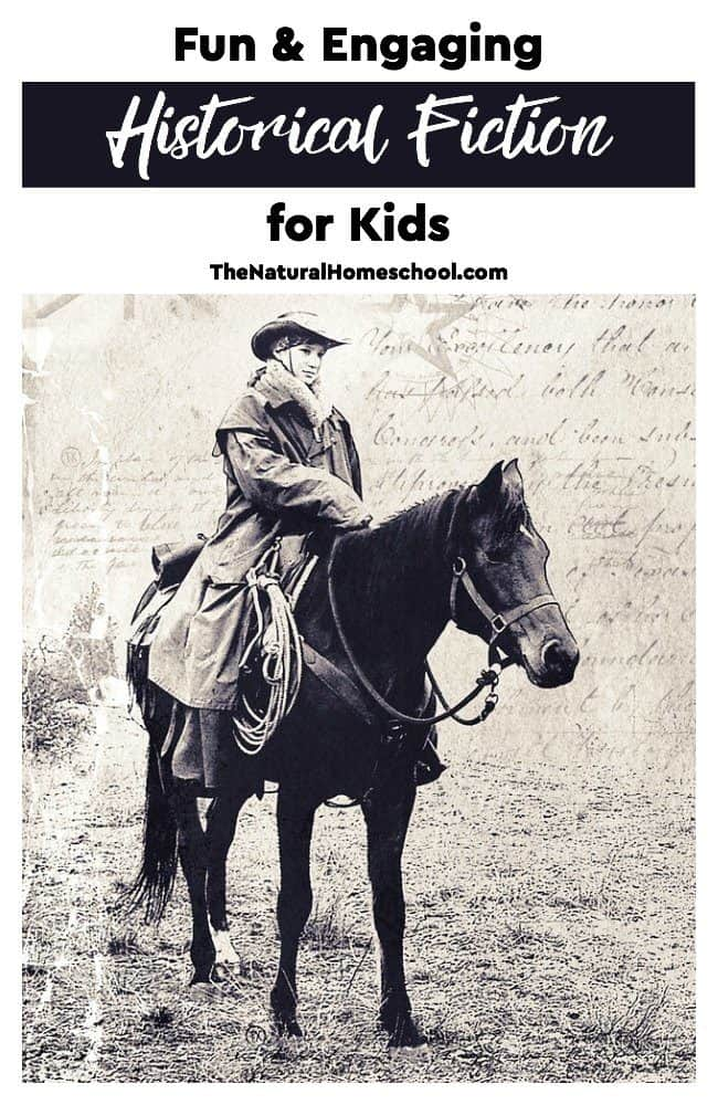 We love fun Historical Fiction for kids, especially those that are engaging and interesting.