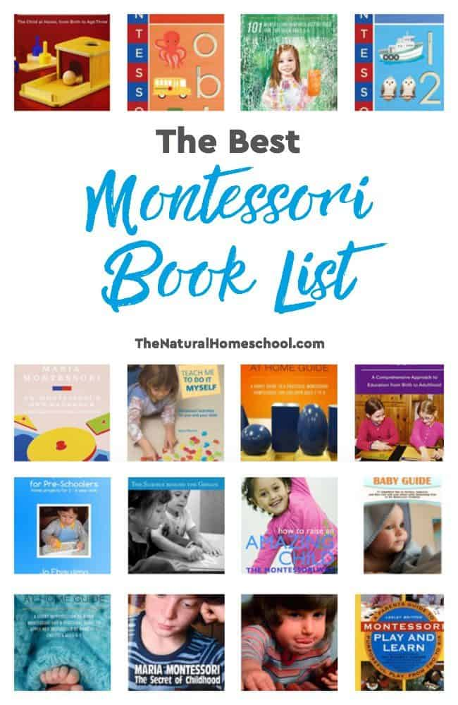 If you know us, you'll know that we're no strangers to the Montessori Method. I have learned so much from reading and reading and reading. So here I am, years later, still loving everything about it! In this post, I share with you the best Montessori book list.