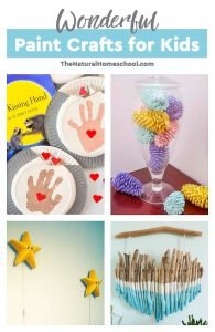 Wonderful Paint Crafts for Kids
