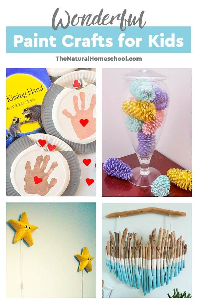 This is an awesome list of posts that bring you beautiful advice to make Wonderful Paint Crafts for Kids a wonderful experience. Include your children in the reading. What do they think?