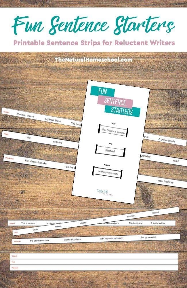 picture relating to Printable Sentence Strips titled The Easiest Totally free Printable Sentence Strips for Sentence