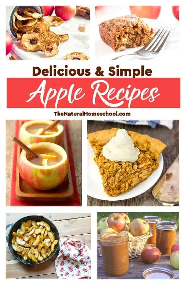 This is an awesome list of posts that bring you beautiful advice to make Delicious & Simple Apple Recipes a wonderful experience. Include your children in the reading. What do they think?