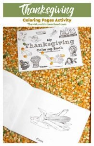 Printable Thanksgiving Coloring Pages Activity