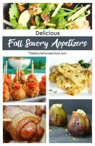 Delicious Fall Savory Appetizers