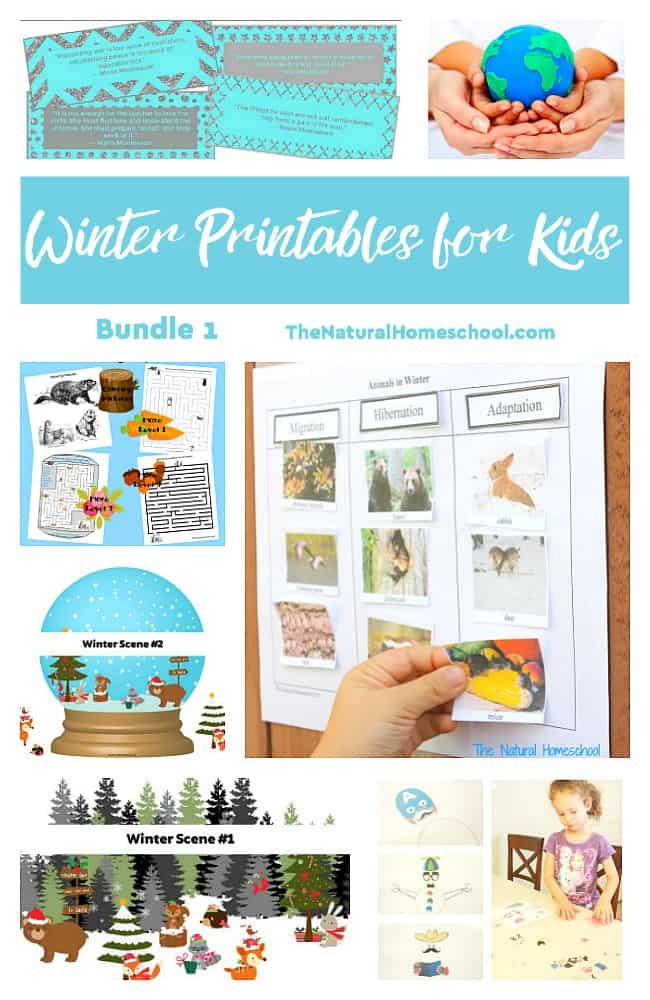 Here, you will have a chance to see our awesome Winter Printables for Kids - Bundle 1 set! Take a look at what this includes and get it for your kids today!