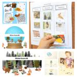 Winter Printables for Kids - Bundle 1