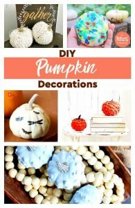 DIY Pumpkin Decorations for Fall