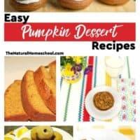 Easy Pumpkin Dessert Recipes