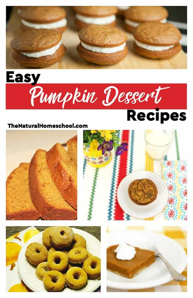 This is an awesome list of posts that bring you beautiful advice to make Easy Pumpkin Dessert Recipes a wonderful experience. Include your children in the reading. What do they think?