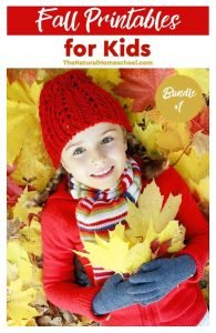 Fall Printables for Kids – Bundle #1