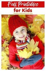 Fall Printables for Kids – Bundle #1