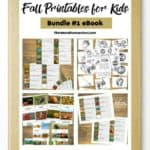 Fall Printables for Kids Bundle #1 eBook